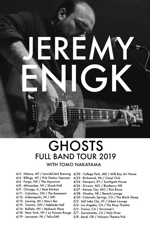 Ghosts Full Band Tour 2019